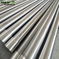 219mm Stainless Steel Wire Wrapped Continuous Slot Well Screens