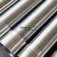 Wholesale Rod Based Continuous Slot Johnson Wedge Wire Wrapped Screen Tube from china suppliers