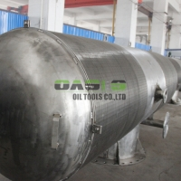 Buy cheap Duplex Stainless Steel 2507 Wedge Wire Johnson Passive Intake Screens from wholesalers