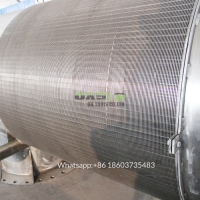 Wholesale Duplex Stainless Steel 2507 Wedge Wire Johnson Passive Intake Screens from china suppliers