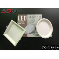 Wholesale Recessed Anti - Glare LED Round Panel Light 22 Watt SMD2835 3000K 80Ra from china suppliers