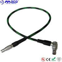 Buy cheap FGG Custom Cable Assemblies RED Power Extension Cable 6 Pin Right Angle To 4 Pin from wholesalers