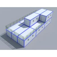 Wholesale Prefabricated Movable 40ft Storage Container Homes Economical 2 Story from china suppliers