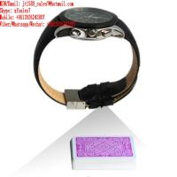 Buy cheap XF leather strap watch camera for poker analyzer from wholesalers