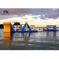 Buy cheap Bright Color Anti UV Inflatable floating obstacle course With 2 Years Warranty from wholesalers