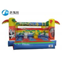 Wholesale Jungle Castle Inflatable Bounce House Fire Retardant For Commerce Square from china suppliers