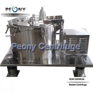 Buy cheap Alcohol Washing Basket Centrifuge Marijuana Extraction Centrifuge PLC Control from wholesalers