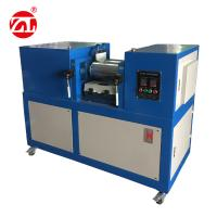 Customize Roller Size Rubber Testing Machine / Lab Two Roll Mill 3 Phase 380V 60Hz