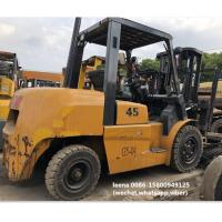 Wholesale used tcm 4.5ton FD45T9 diesel forklift , low work hrs, originally made in japan , 3 meters lifting height from china suppliers