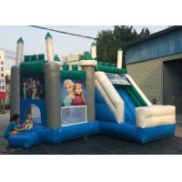 Wholesale Safety Air Flap Commercial Bouncy Castle , Inflatable Jump House Easily Putting Up from china suppliers