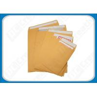 Buy cheap Economical Kraft Paper Envelopes , Self-seal White Business Kraft Envelope Open End from wholesalers