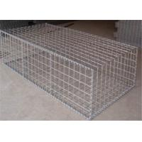 Wholesale Galvanized Welded Wire Gabions Baskets Retaining Wall Spirals / Helicals Connected from china suppliers