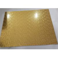 Wholesale High Performance Embossed Aluminum Sheet Metal Eco Friendly Plate Form Bright Surface from china suppliers