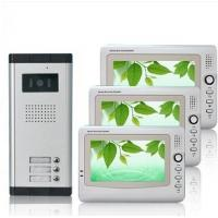 Wholesale FCC 1440*234 Pixels CMOS Unlock ABS Alloy Multi Apartment Video Intercom Door Entry Phone from china suppliers