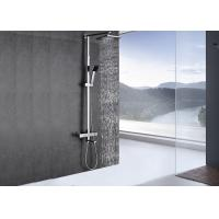 Wholesale Chrome Polished Custom Shower Systems Adjustable Height Easy To Use ROVATE from china suppliers