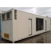Wholesale Steel Structure Anti - Storm 40ft Shipping Container With Pull Down Doors from china suppliers