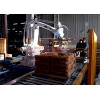 High Strength Automatic Stacking Machine , Fast Packing Robotic Bag Palletizer