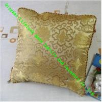 Wholesale Luxury Decorative Quilted Pillow , Custom Silk Throw Pillows For Sofa from china suppliers