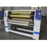 Wholesale Automatic BOPP Adhesive Tape Slitting Machine For Fabric / Thermal Paper from china suppliers