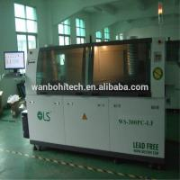 China Double Wave Soldering Equipment , Standard Computer Control DIP Soldering Machine on sale