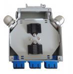 Wholesale Metal 6 cores Fiber Optic Terminal Box / Waterproof Fiber Optic Termination Box from china suppliers