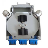 Buy cheap Metal 6 cores Fiber Optic Terminal Box / Waterproof Fiber Optic Termination Box from wholesalers