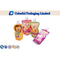 Wholesale Custom Liquid Packaging Stand up Pouch with Spout , 450ml / 500ml from china suppliers