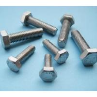 Wholesale DIN933 DIN931 Stainless Steel AISI 316 Hex Hexagon Head Bolts and Nuts from china suppliers