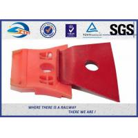 Wholesale Red Painting Nabla Railway Metal Spring Clips Steel 3 Million Times Fatigue Test from china suppliers