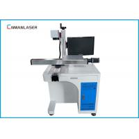 Wholesale Desktop Metal Laser Marking Machine Moving Working Table Raycus Sources from china suppliers