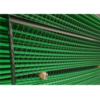 Buy cheap Flatten Green Pvc Coated Expanded Metal Wire Mesh For Security Doors from wholesalers