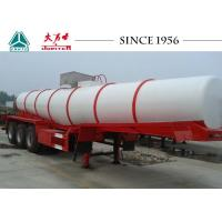 Wholesale Durable Sulphuric Acid Tanker Trailer 3 Axles 30-40 Tons Capacity from china suppliers