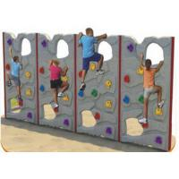 Wholesale Customized Color Kids Plastic Climbing Wall For Park Environmental Protection from china suppliers
