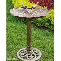 Wholesale Resin Bird Bath with 2 Birds from china suppliers