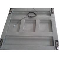 Buy cheap Single Deck Industrial Floor Weighing Scales 1.2 X 1.5m 3t Powder Coated With from wholesalers