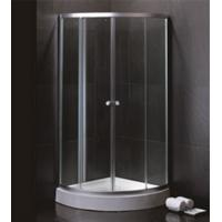 Wholesale 800 X 800 Quadrant Shower Enclosures And Tray With Magnetic Stripes Ss Sliding Handle from china suppliers
