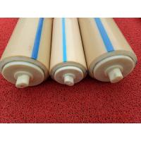 Wholesale Natural Color Plastic Nylon Rollers Small Power Consumption For Industries , Long Service Life from china suppliers