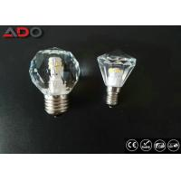 Wholesale Diamond Shape  E14 Crystal Led Candle Bulb Concussion Proof 2700k Cct from china suppliers