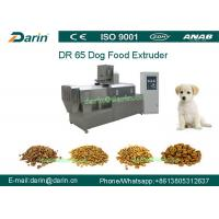 Wholesale DR65 Automatic Stainless Steel  Dog Food Extruing Machine / Dry Pet Food Processing Line from china suppliers
