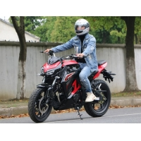 Wholesale Air Cooled Adult 200cc High Powered Motorcycles With 1430mm WheelBase from china suppliers