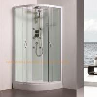 Wholesale 800 x 800mm quadrant shower enclosure sliding shower glass door with back jets from china suppliers
