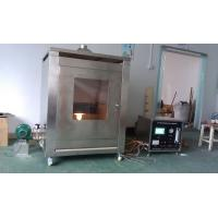 Buy cheap Steel Structure Fire Testing Equipment , Fireproof Coating Sample Test Furnace from wholesalers