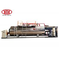 Wholesale 1 T/H Industrial Fire Tube Natural Gas Boiler , Diesel Oil Dual Fuel Fired Steam Boiler from china suppliers