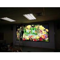 Buy cheap Video Full Color Indoor Led Screens , led wall display screen Front Rear service from wholesalers