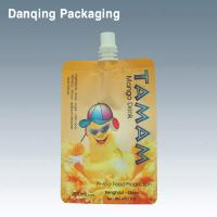 Wholesale jelly bag, liquid stand up pouch with spout,plastic pouch spout bag, spout doypack from china suppliers