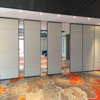 Buy cheap Banquet Hall Office Wooden Movable Acoustic Operable Mobile partition walls from wholesalers