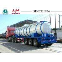 Wholesale 19 CBM Sulfuric Chemical Tanker Truck 35T Payload With Germany Axles from china suppliers