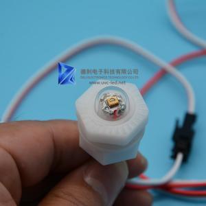 Buy cheap DC 12/24V UV LED Lamp Sterilizer 265nm Wavelength DUV LED With Hexagon Nut from wholesalers