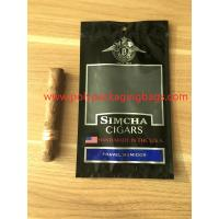Wholesale Resealable Ziplock Cigar Humidor Bags Through Window Convenient To Carry from china suppliers