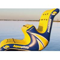 Buy cheap Customized PVC Tarpaulin Inflatable Rocks Water Park Slide Games For Lake from wholesalers